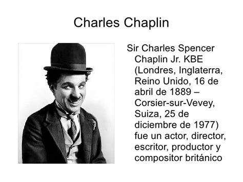 biography charles chaplin en ingles charles chaplin ivan