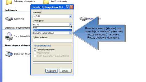 format pendrive z fat32 na ntfs podradnik jak zmienić system plik 243 w na pendrive z fat32