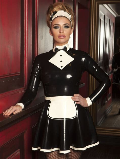 leather maids dress 258 best fetish maid images on pinterest french maid
