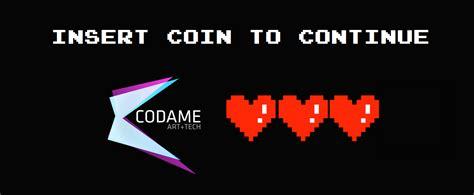 Kaos Pixel Insert Coin To Continue donate codame tech