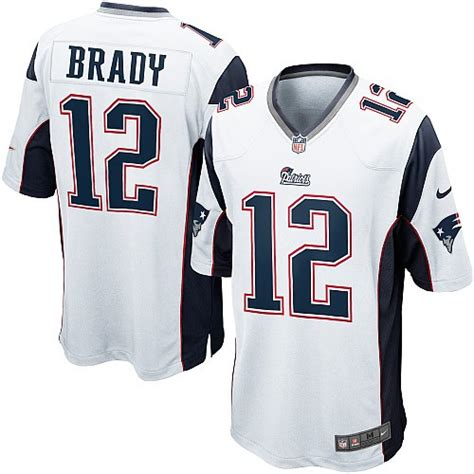 nfl new patriots youth elite white road nike