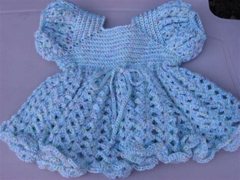 free knitted dress patterns for toddlers crocheted baby dress free pattern crochet club