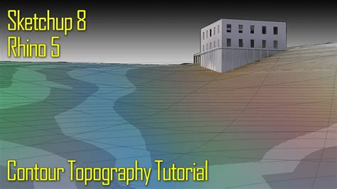 tutorial vray sketchup 8 youtube tutorial topography model with sketchup 8 and rhino 5