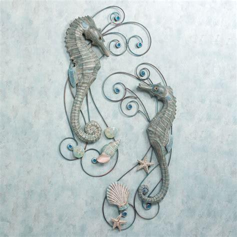 Seahorse Wall Decor by Seahorse Serenade Wall Sculpture Set