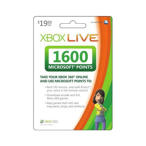 Microsoft Points Gift Card Online - free xbox live points cards xbox live code generator