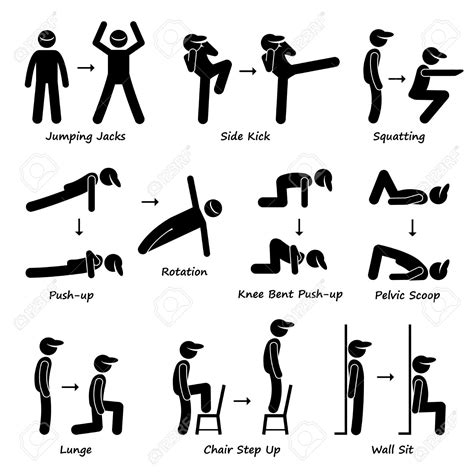 stickman exercise diagrams great runner everything you wanted to