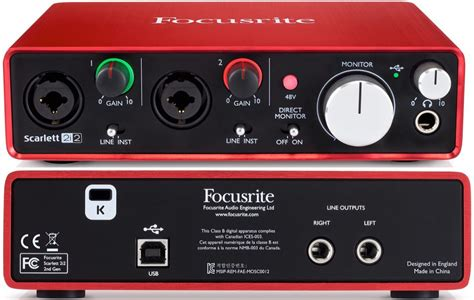 best focusrite audio interface the best audio interfaces 200 gearank