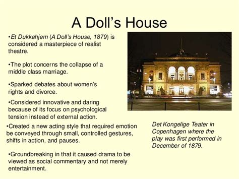a dolls house essays a doll house essay