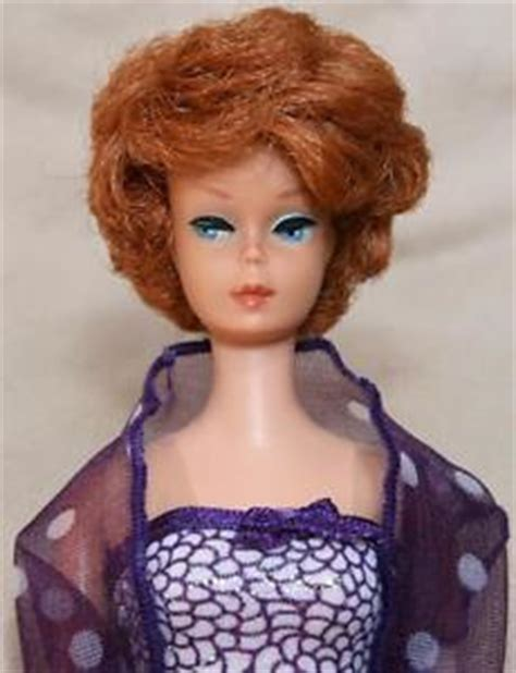 celebrities with bubblecut hair in the 1960s vintage 1960s bubble cut red hair barbie midge doll 850