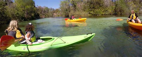 boat rental weeki wachee paddling rentals weeki wachee springs state park