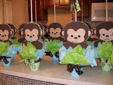 baby shower decorations monkey theme 25 best ideas about baby shower monkey on