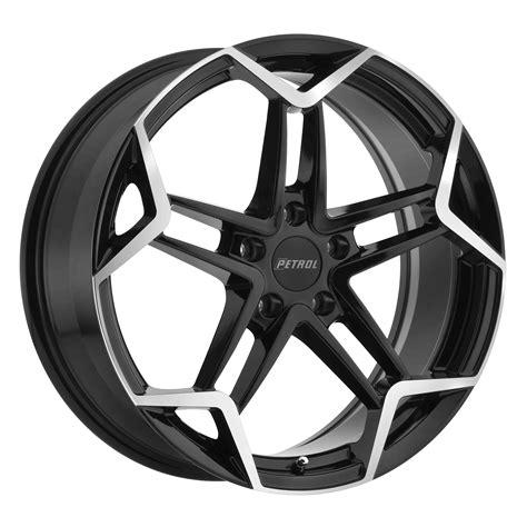 black wheels p1a rims by petrol