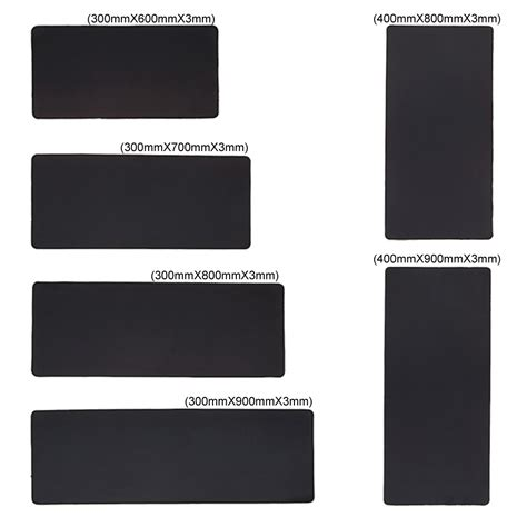 Mouse Pad Polos gaming mouse pad desk mat polos 500 x 800 mm black jakartanotebook
