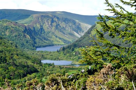 Superior Mountain View Home And Garden #3: Glendalough_valley_wicklow_mountains.jpg