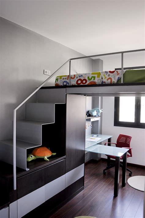 dormitorio juvenil elevado arquitectura interior sl
