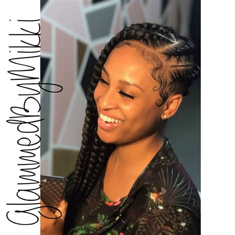 chicago boxcar hairstyle lemonade braids by mikki look at the details pay attention
