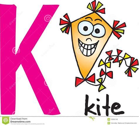 Letter Of Credit Kiting Letra K Cometa Imagen De Archivo Libre De Regal 237 As Imagen 10050146