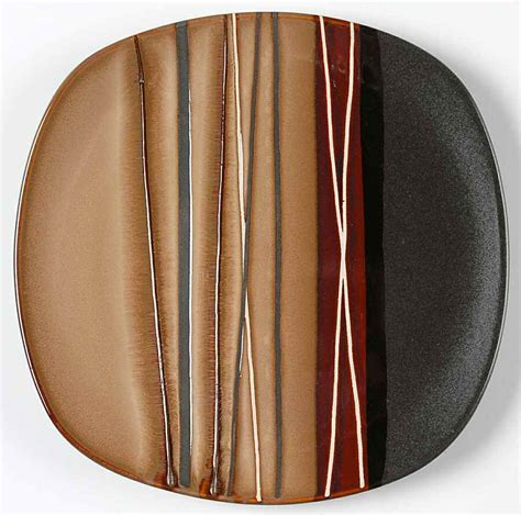 home trends bazaar brown salad plate 8380613 ebay