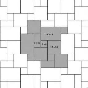 French tile layout patterns