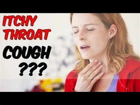 how to soothe an itchy throat cough get rid of itchy