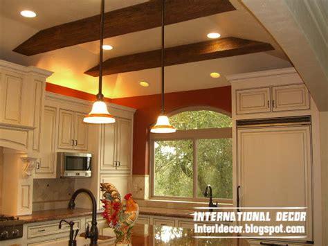 Ceiling Ideas For Kitchen Top Catalog Of Kitchen Ceiling False Designs Part 2