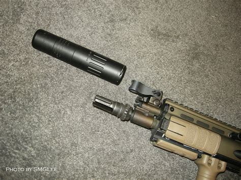 L Aac by Airsoft Gt Silencieux Pour Scar