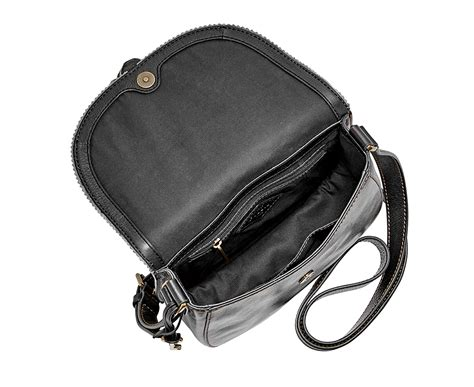 Purse Deal Saddle Bags by Fossil Emi Tassel Saddle Bag Black Great Daily Deals
