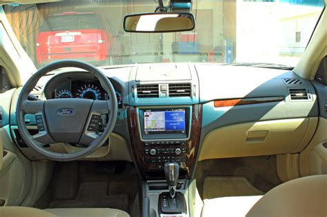 2012 Ford Fusion Sel Interior by Views Of The 2012 Ford Fusion Sel Davis Nissan