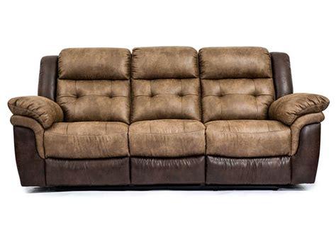 overstock couches hudson bonanza silt bonanza sable reclining sofa