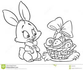 easter egg coloring book page download