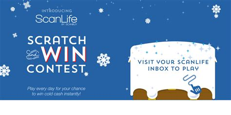 Sweepstakes Rules - scanlife scratch and win sweepstakes official rules