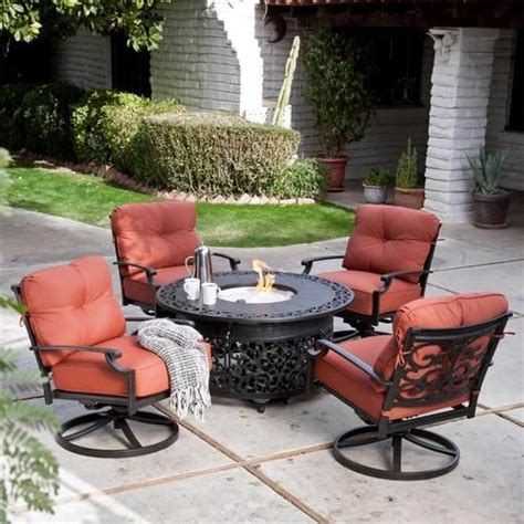 patio furniture sets with pit 12 best images about patio on