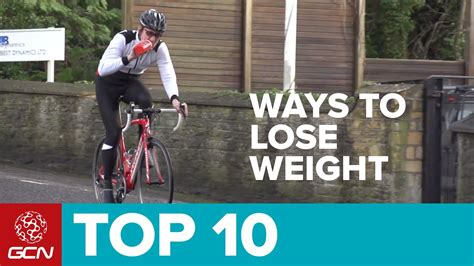 gcn s top ten ways to lose weight through cycling youtube