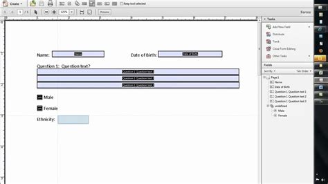 adobe forms templates how to create a fillable form using word 2010 and adobe