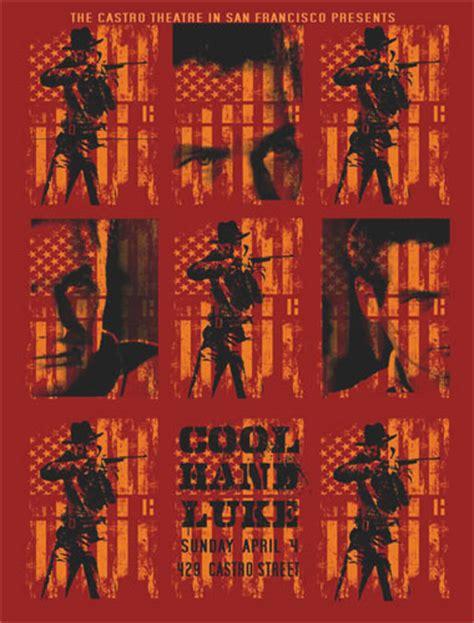 Cool Silkscreened Posters by Paul Newman Cool Luke Silkscreen Poster Ebay