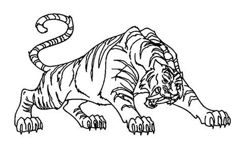 Coloriage Tigre Les Beaux Dessins De Animaux 224 Imprimer