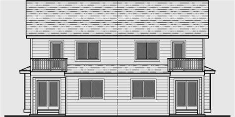 duplex house plans narrow lot duplex house plans