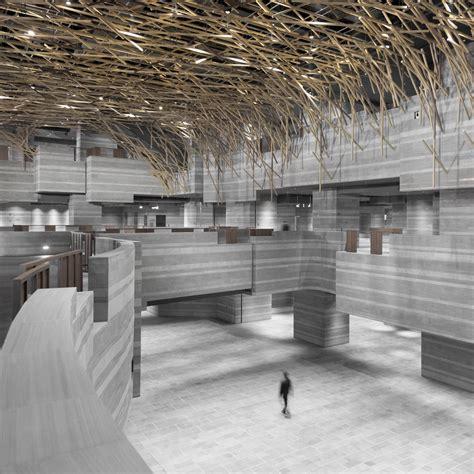 hub performance  exhibition center nerihu design