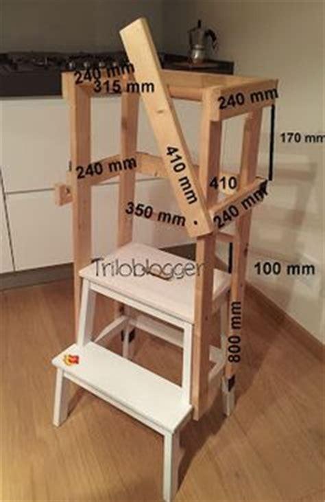 Kitchen Helper Stool Ikea by Learning Tower Torre Di Apprendimento Montessoriana Rosa