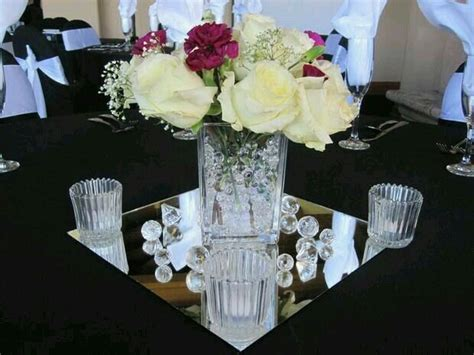 137 Best 60th Anniversary Table Decorations Images On Mirror Centerpieces Ideas