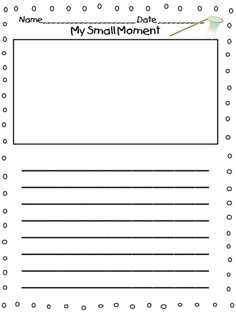 grade writing paper with picture space printable story writing paper for grade writing
