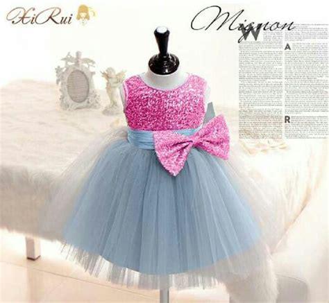 Baju Bayi Perempuan Baju Pesta Kondangan Dress Blink Blink baju dress pesta anak perempuan mewah cantik lucu dan murah