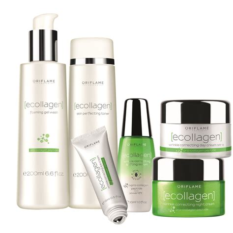 Collagen Oriflame ecollagen skin care routine from oriflame