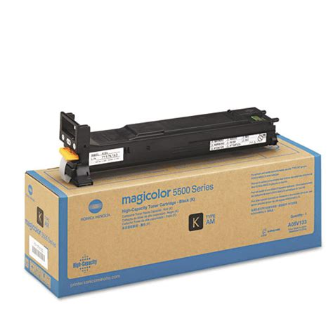 Toner Konica Minolta konica minolta a06v133 black toner cartridge high yield made by konica minolta 12000 pages