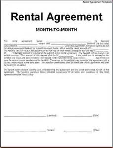 4 simple one page rental agreementreport template