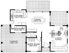 modern house designs and floor plans 187 modern house design 2012002 ground floorpinoy eplans