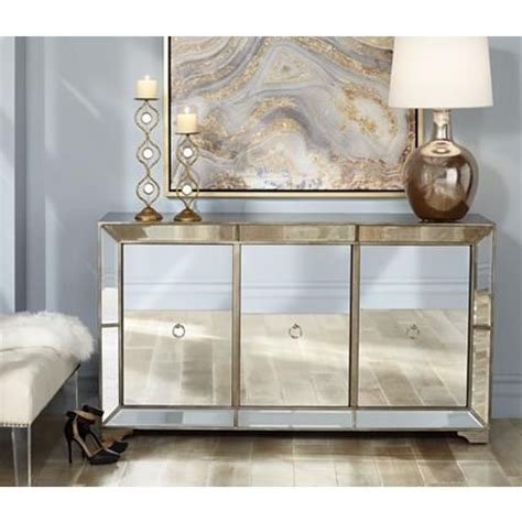 mirrored dining room buffet 3 door mirrored buffet cabinet sands dining