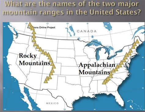 map of major us rivers and mountains social studies shirleys scoop mountain ranges in usa map