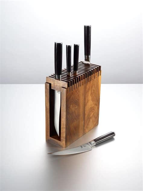 cool knife block knife block knives and keep it simple on pinterest