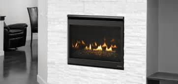 heat glo slimline fusion series gas fireplace